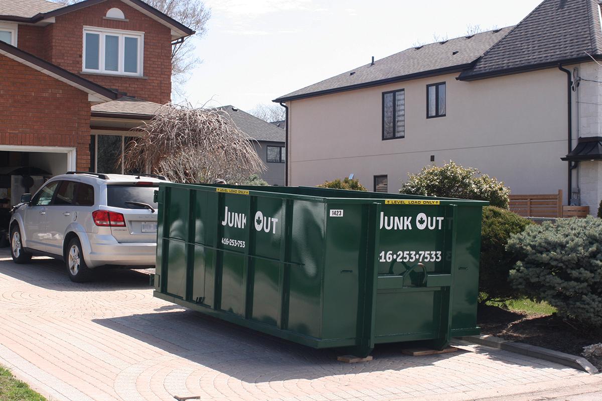 disposal bin rental Brampton
