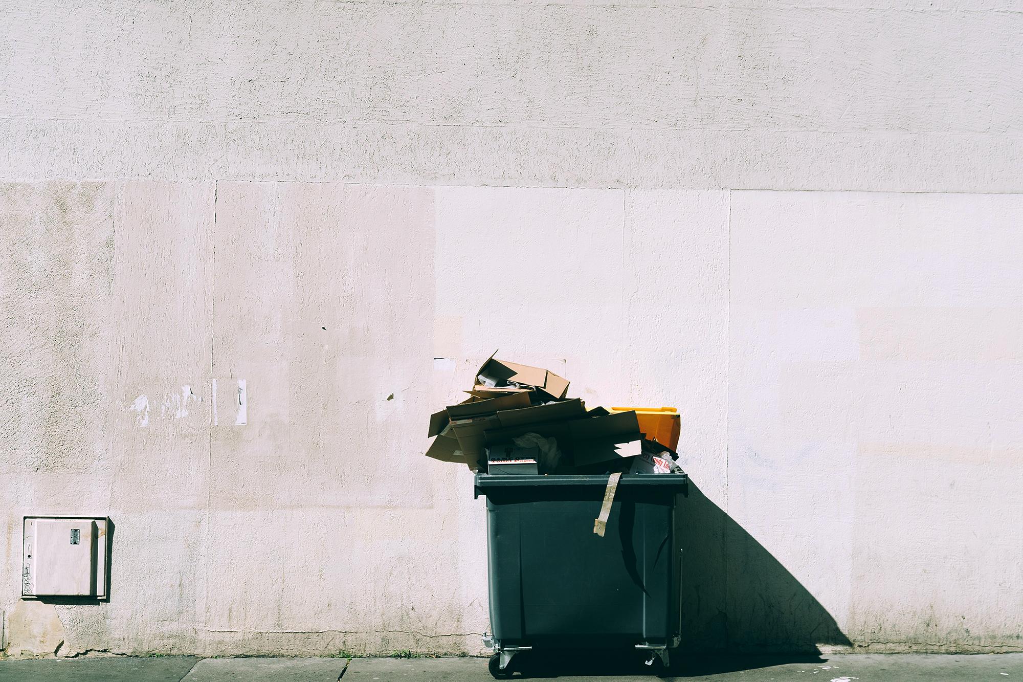 Dumpster mini bin